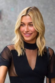 Hailey Baldwin Stills Auditions for the Victoria's Secret Fashion Show in New York