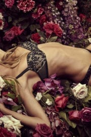 Heidi Klum Lingerie Photoshoot for Intimates Lingerie 6th Collection Campaign, August 2017
