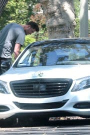 Hilary Duff and Her Boyfriend Ely Sandvik Stills Kissing Out in Los Angeles