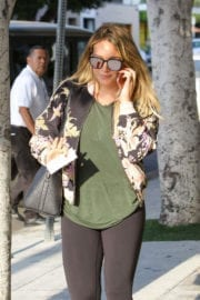 Hilary Duff Stills Heading to Yoga Class in West Hollywood