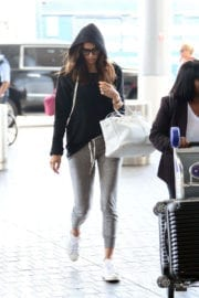Irina Shayk Stills at Lax Airport in Los Angeles