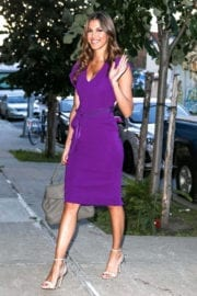 Iris Mittenaere Stills Out and About in New York