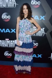 """Isabelle Cornish Stills at """"Marvel's Inhumans - The First Chapter"""" IMAX World Premiere in Universal City"""