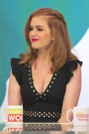Isla Fisher Stills on the Set of Loose Women TV Show in London