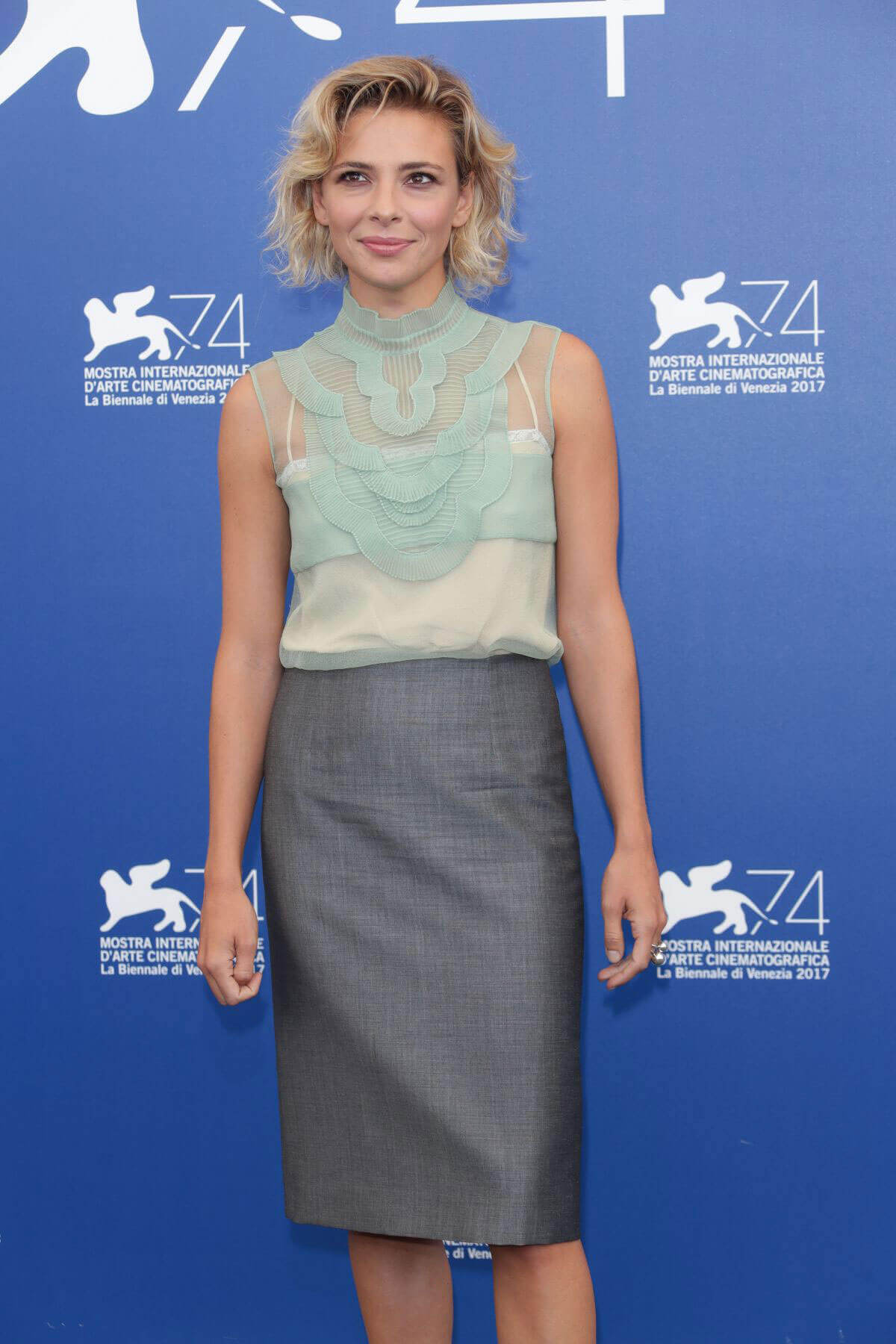 Jasmine Trinca Stills at Jury Photocall at 74th Venice International Film Festival