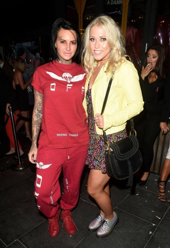 Jemma Lucy and Amelia Lily Stills Night Out in Manchester