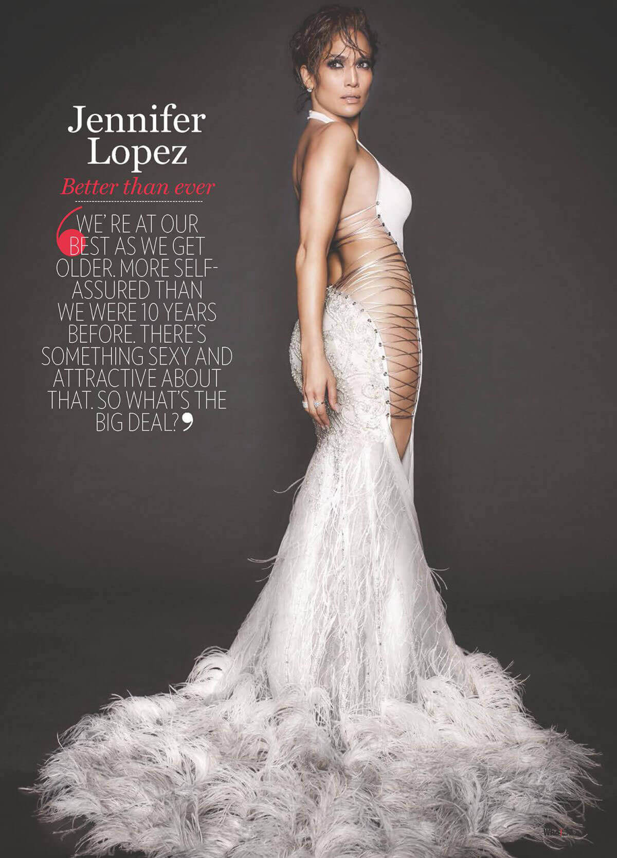 Jennifer Lopez Photos for Who Magazine, Glamour Issue 2017