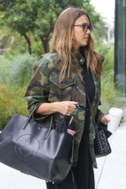 Jessica Alba Stills Out and About in Los Angeles Images