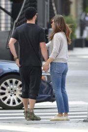Jessica Biel and Justin Timberlake Stills Out for a Juice in New York