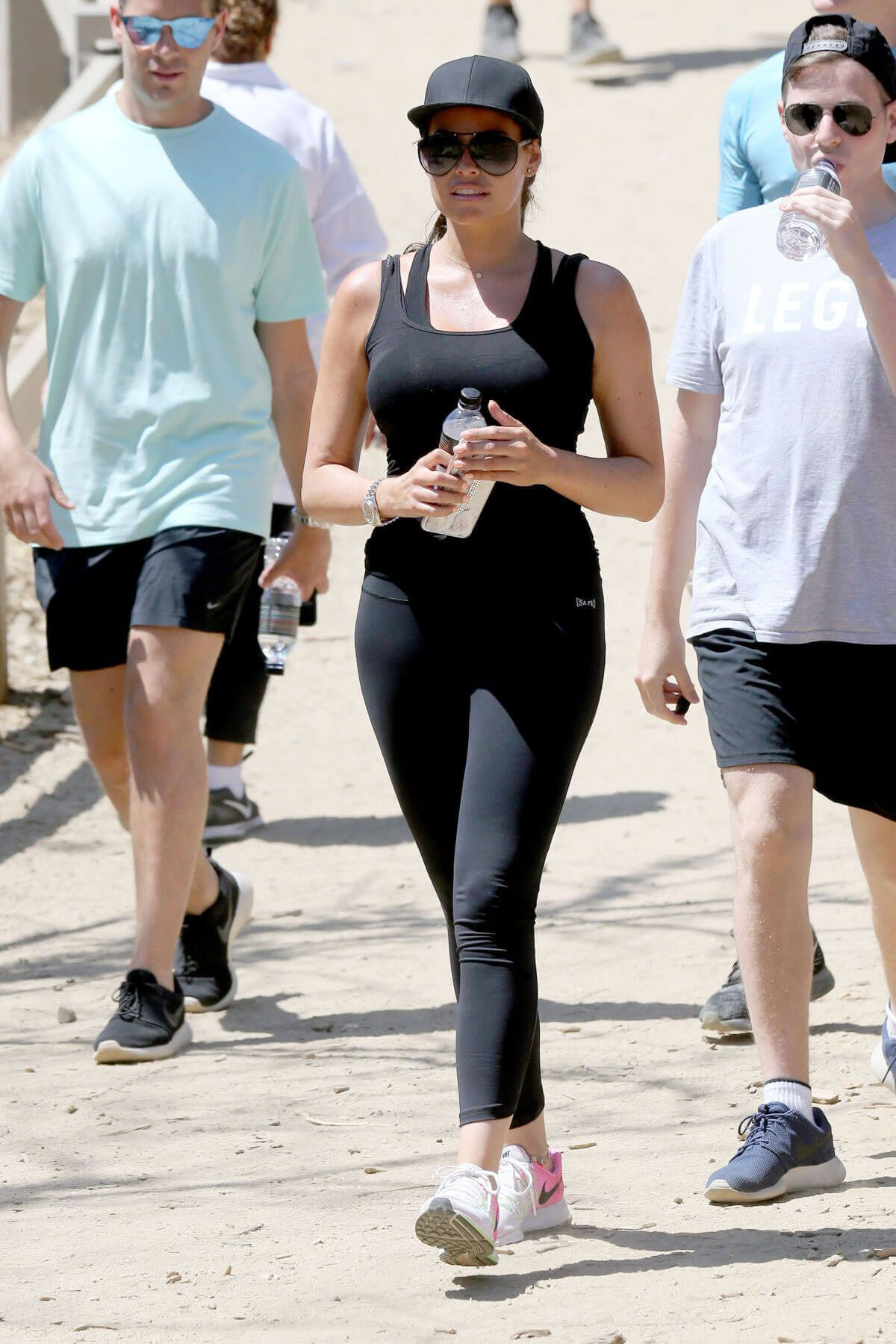 Jessica Wright Stills Out Hiking at Runyon Canyon in Los Angeles