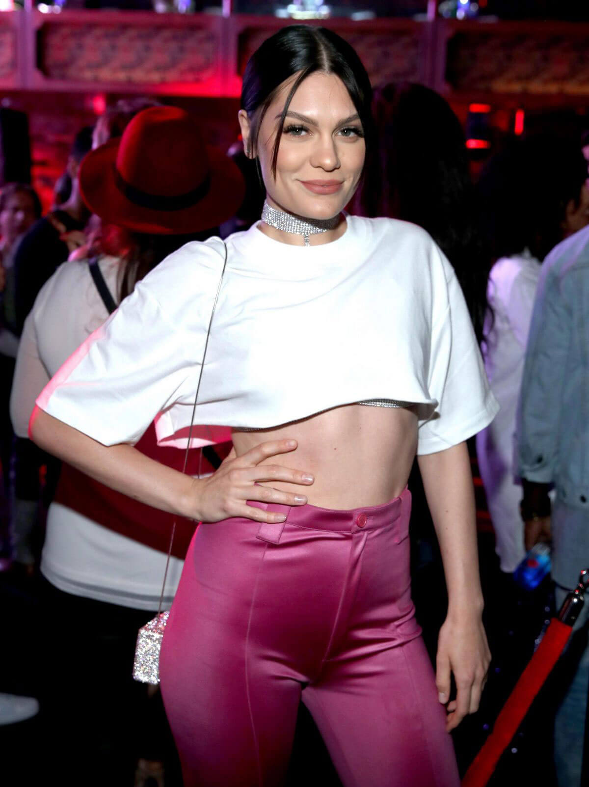 Jessie J Stills at Arriving at Beauty & Essex VMA After Party in Hollywood