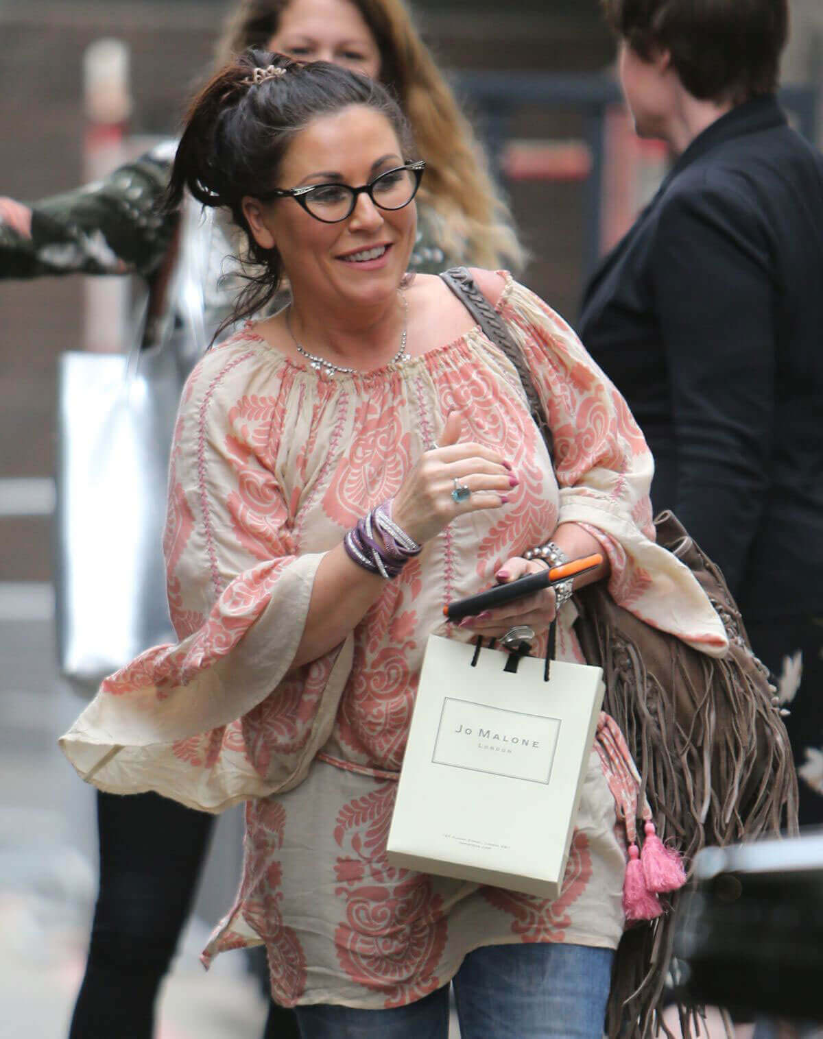 Jessie Wallace Stills Leaves ITV Studios in London