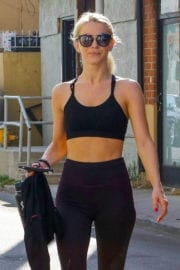 Julianne Hough Stills Leaves Tracy Anderson's Gym in Studio City