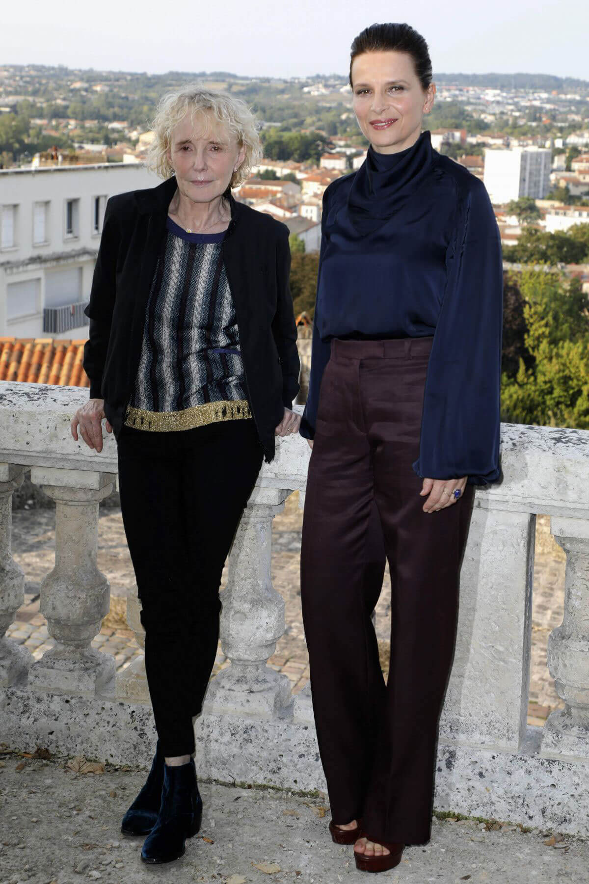 Juliette Binoche Stills at Angouleme French-speaking Film Festival in France