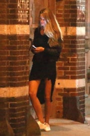 Kate Bock shows off Legs Night Out in New York Photos