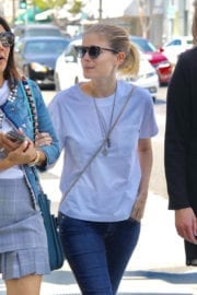 Kate Mara Stills at Out for Lunch With Friends at Cafe Gratitude in Beverly Hills