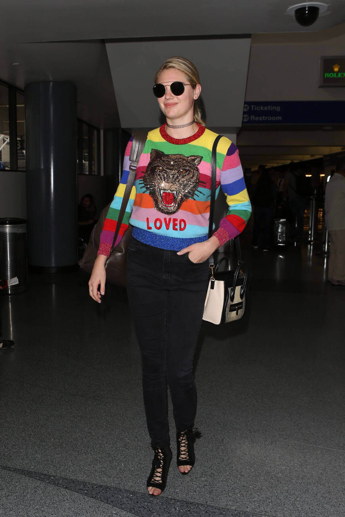 Kate Upton Stills at LAX Airport in Los Angeles