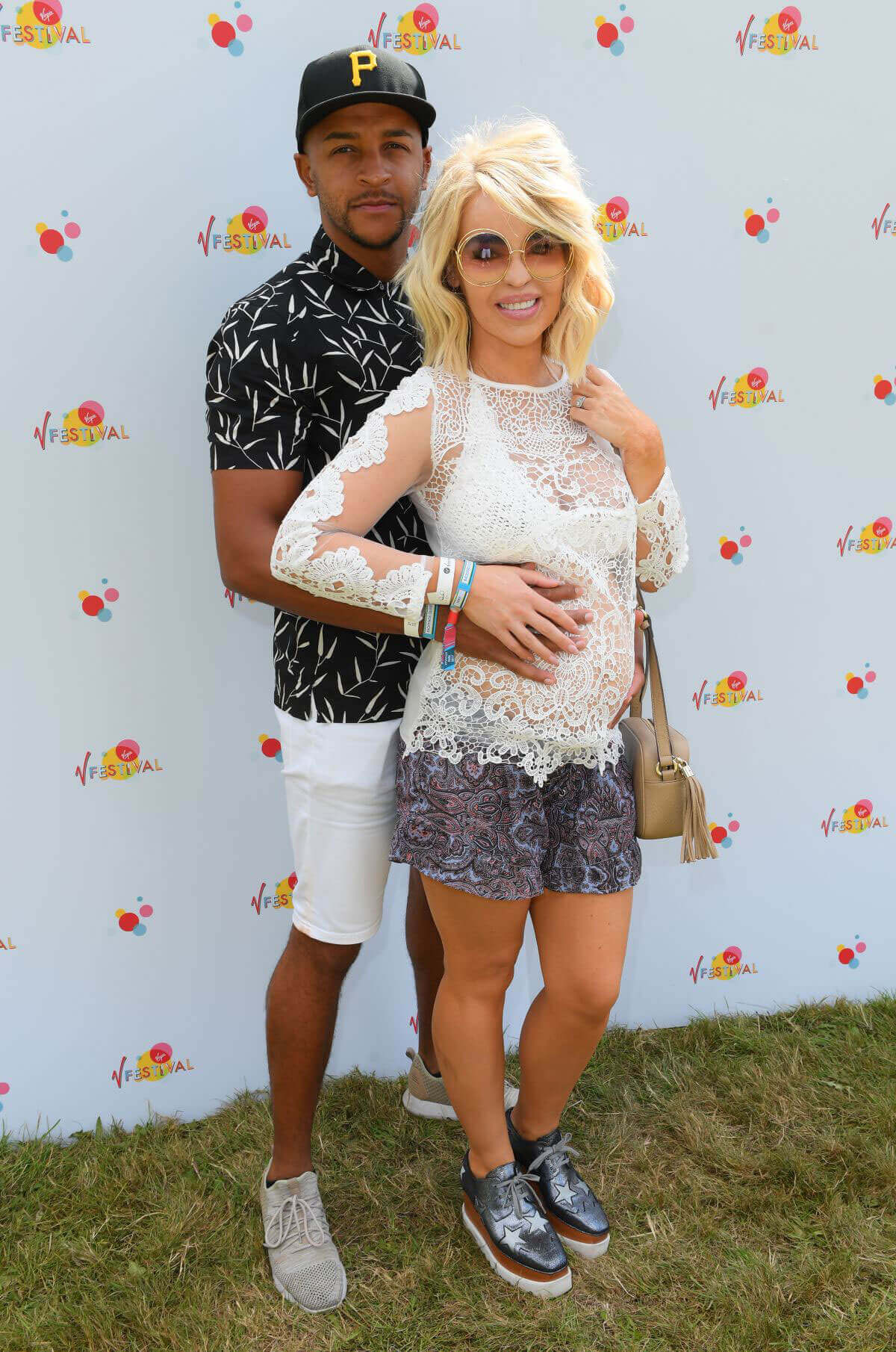 Katie Piper Stills at V Festival in Chelmsford Photos