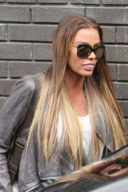 Katie Price Stills at ITV Studios in London Photos