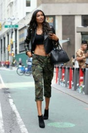 Kelly Gale Stills at Victoria's Secret Fashion Show Casting in New York