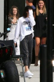 Kendall Jenner Stills Leaves a Studio in Culver City Photos