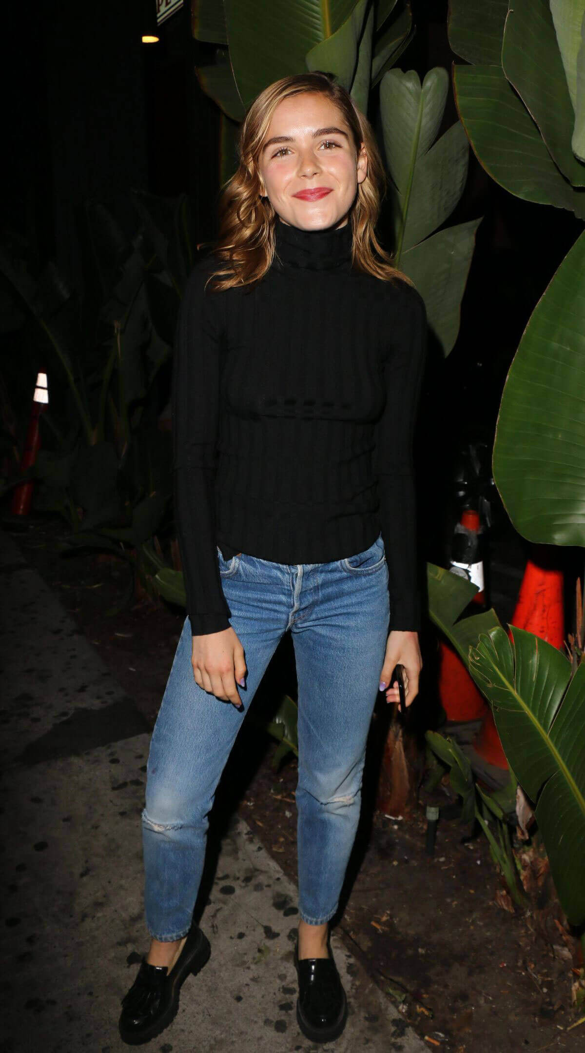 Kiernan Shipka Stills at The Tings Secret Party Launch in West Hollywood