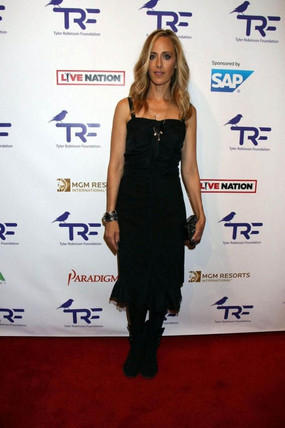 Kim Raver Stills at Tyler Robinson Foundation's 4th Annual Believer Gala in Las Vegas