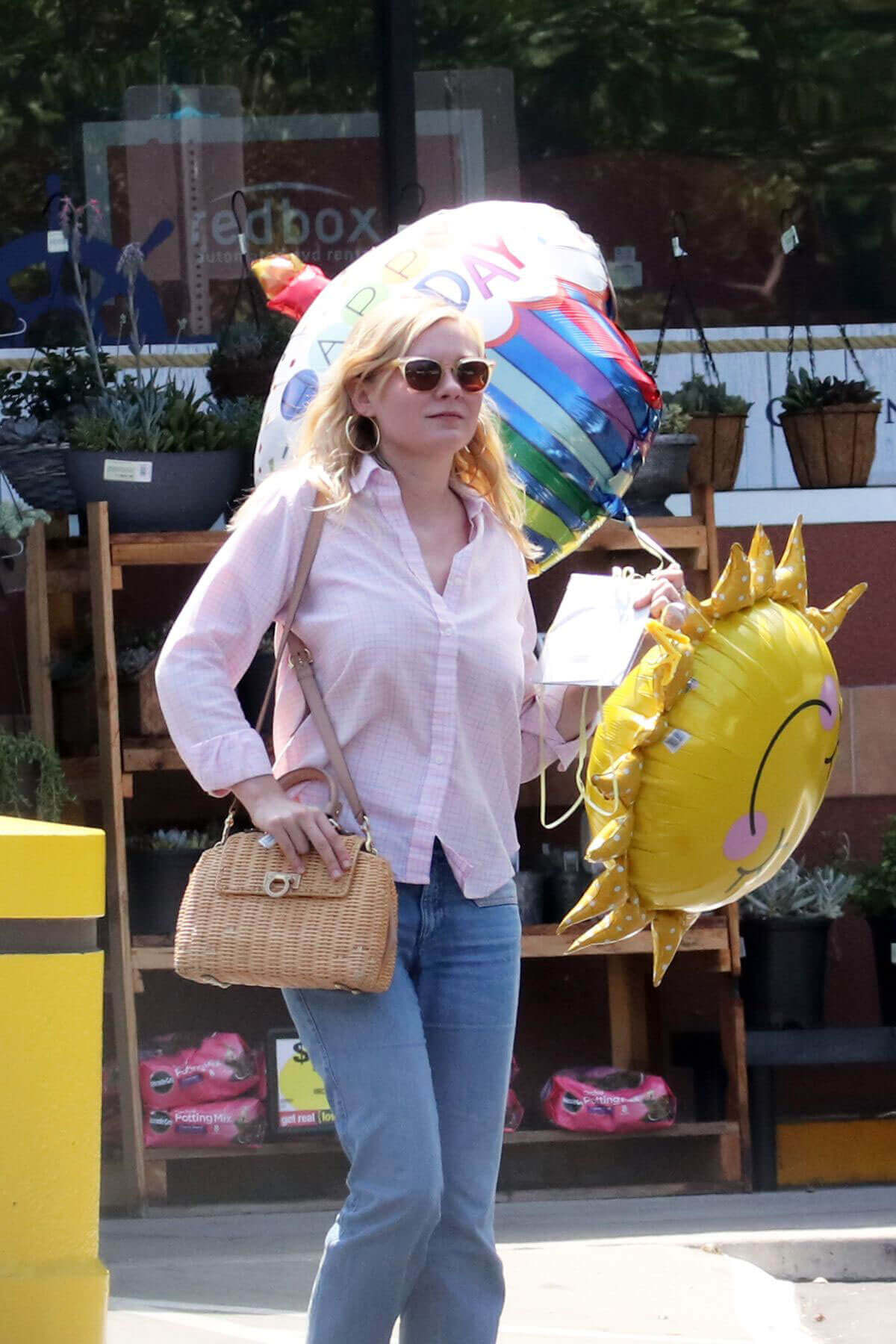 Kirsten Dunst Stills Leaves a Party Store in Los Angeles