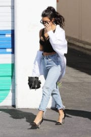 Kourtney Kardashian Stills Leaves Independence Studio in Hollywood