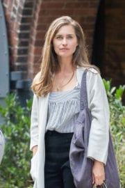 Lauren Bush Stills Leaves Her Store in Dumbo Photos