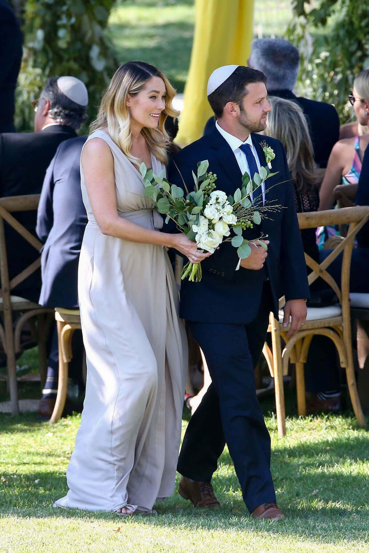 Lauren Conrad and Lo Bosworth Stills at a Friends Wedding in Ojai