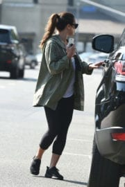 Lea Michele Stills Out for Lunch in Los Angeles