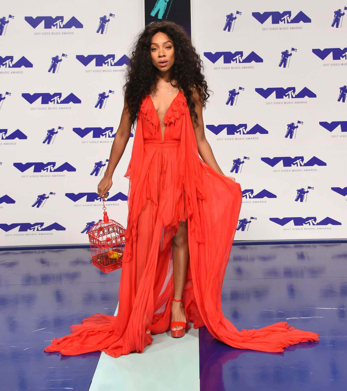 Lil Mama Stills at 2017 MTV Video Music Awards in Los Angeles