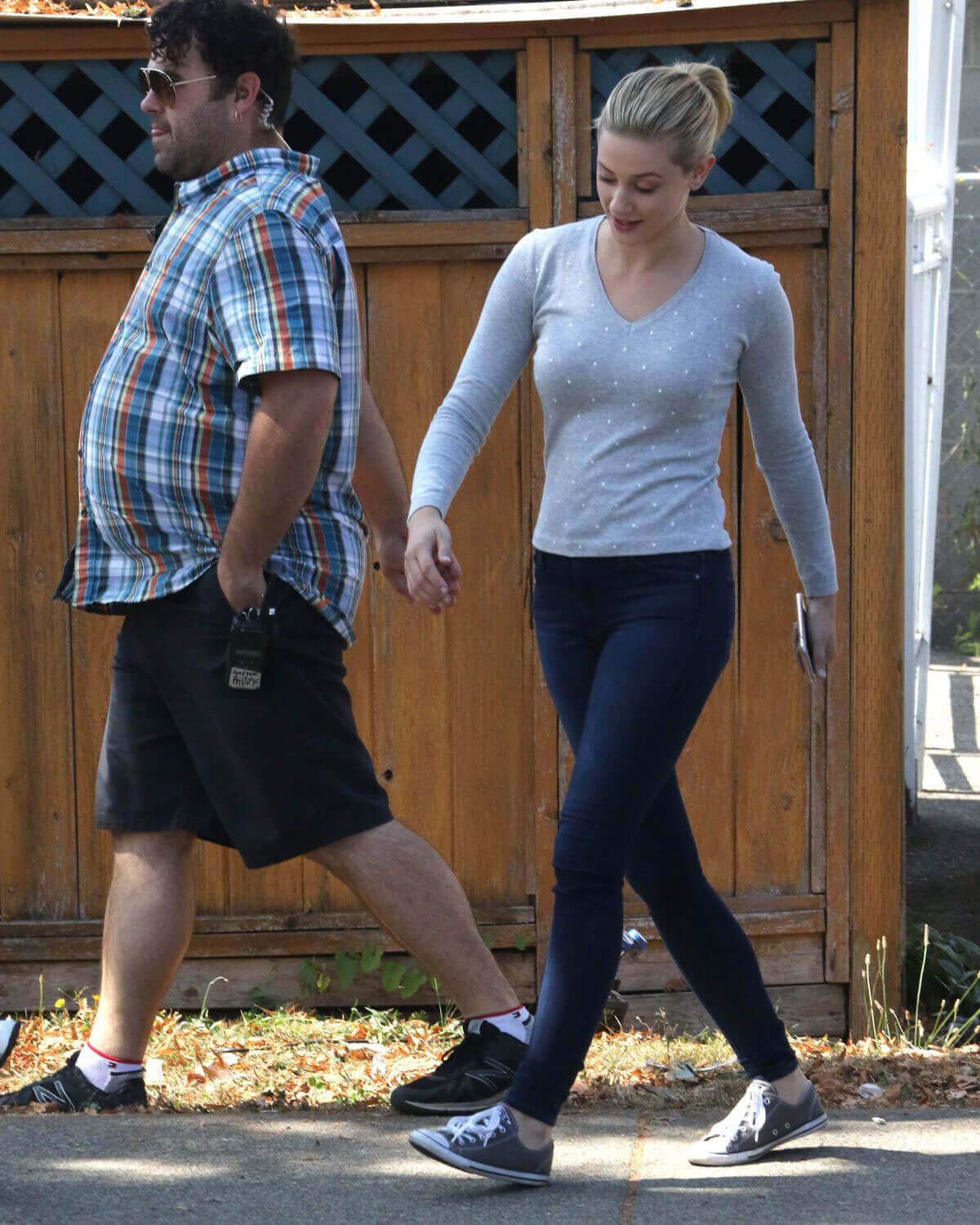Lili Reinhart Stills on the Set of Riverdale in Vancouver
