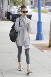 Lily Collins Stills Out and About in Beverly Hills