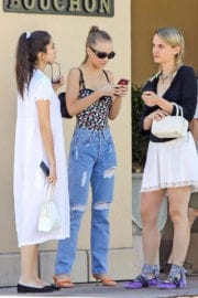 Lily-Rose Depp Stills Out for Lunch in Beverly Hills