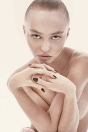"""Lily-Rose Depp Stills Poses Topless for """"CR Fashion Book"""" Photos"""
