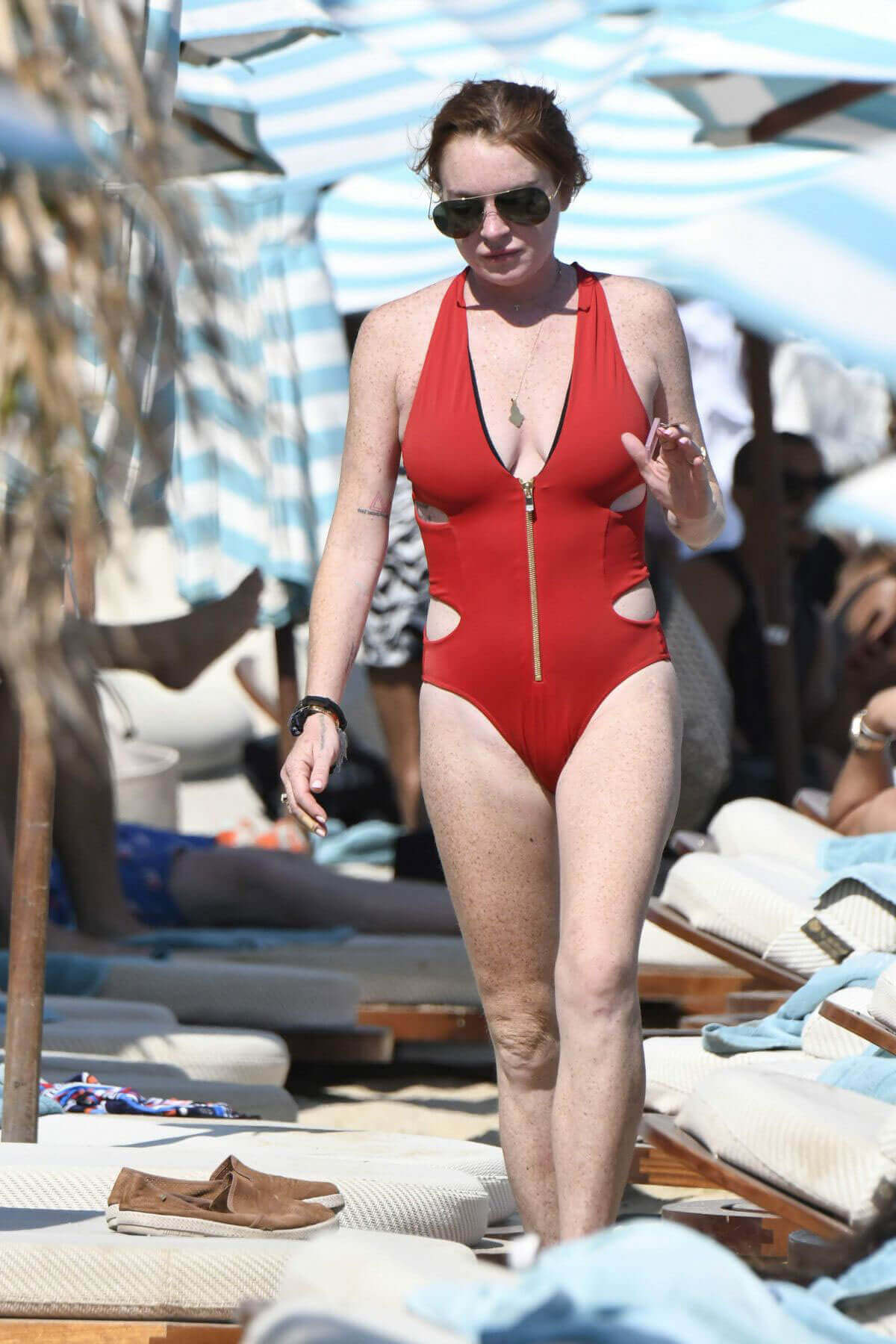 Lindsay lohan swimsuit - 2019 year