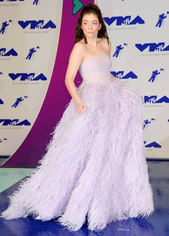 Lorde Stills at 2017 MTV Video Music Awards in Los Angeles