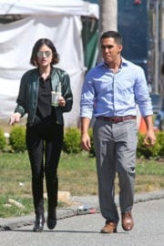 Lucy Hale Stills on the Set of Life Sentence at Burnaby Photos
