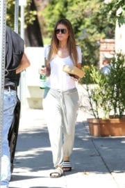 Maria Menounos Stills Out for Lunch at Coral Tree Cafe in Los Angeles