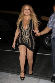 Mariah Carey Stills Out and About in Boston Photos