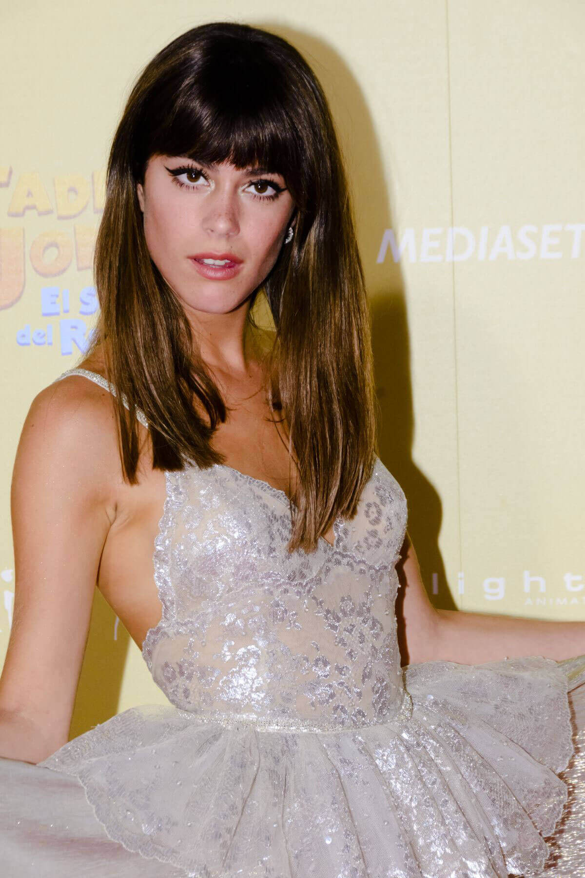 "Martina Stoessel Stills at ""Tadeo Jones 2"" Premiere in Madrid"