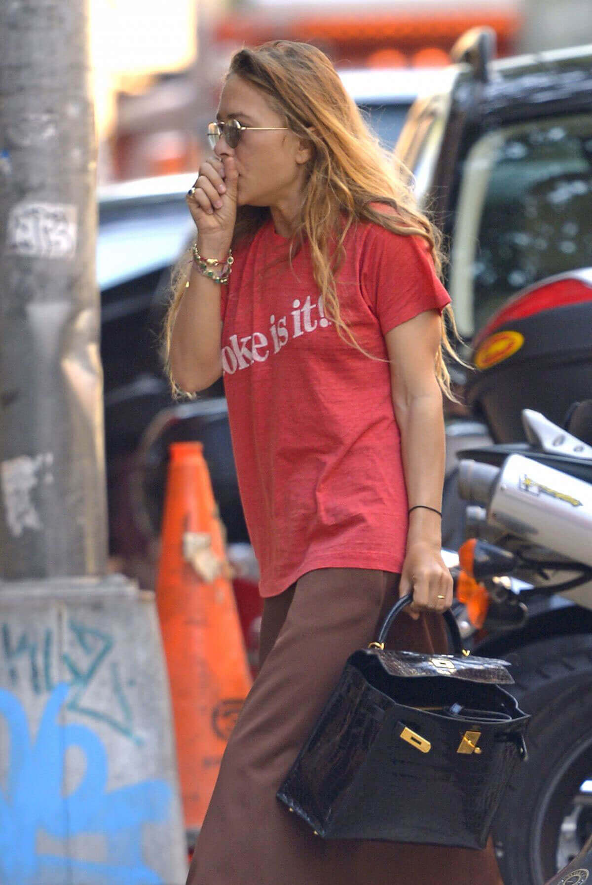 Mary-Kate Olsen Stills Out and About in New York Photos