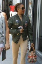 Melanie Brown Stills Shopping at For the Stars Fashion House in West Hollywood