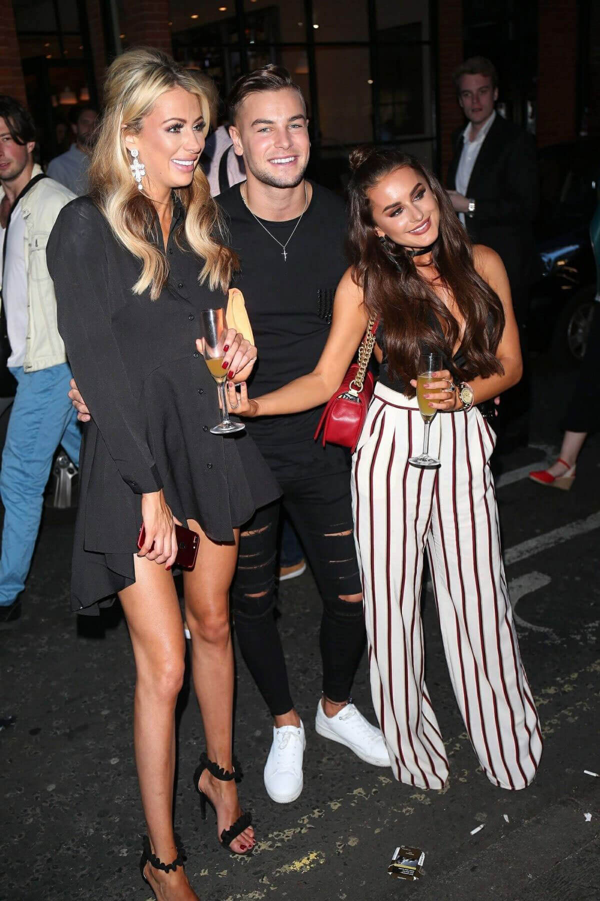 Mia Amber Davis and Olivia Attwood Stills at Inthestyle Fashion in London