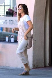 Minka Kelly Stills Leaves Joan's on Third in West Hollywood