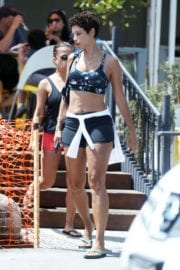Nicole Mitchell Murphy Stills Out for Lunch in West Hollywood