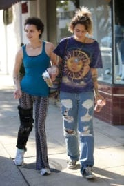 Paris Jackson Stills Out for Lunch at Joan's on Third in Studio City
