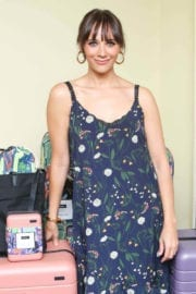 Rashida Jones Stills at Launch Party for Away Luggage Collaboration in Los Angeles